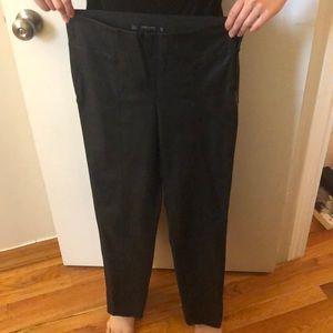Zara Faux Leather Leggings - Small